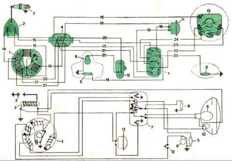 electric wiring diagrams of a vespa scooter all about