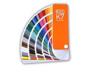 colour fan deck ral k7 classic en