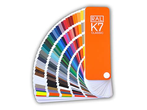 colour fan deck ral k7 classic en