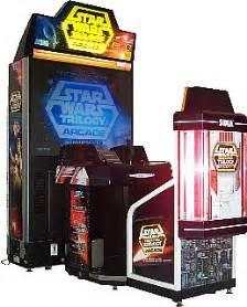 Sit Down Arcade Cabinet Star Wars Trilogy Arcade Videogame By Sega
