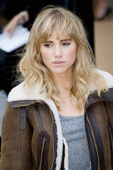 Getting To Suki by Suki Waterhouse 60 Trendy Bangs For All Shapes And
