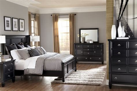 bedrooms with black furniture gray bedrooms black furniture google search bedroom