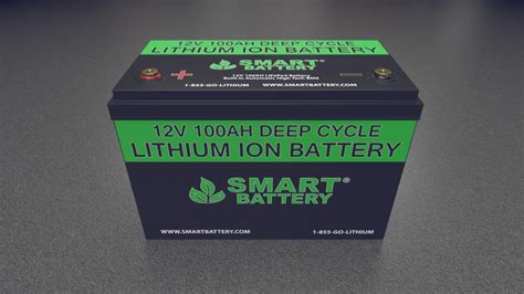 Smart Battery smart battery 174 12v lithium batteries for rv marine and