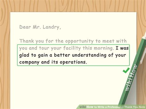 thank you letter to for s day how to write a professional thank you note with sle notes