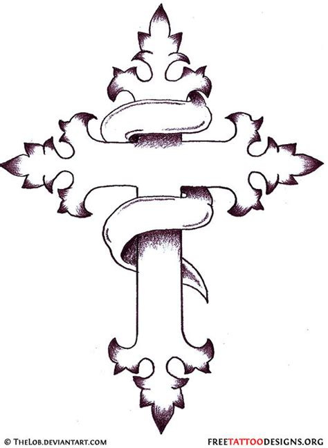 cross tattoo drawings design christian cross designs