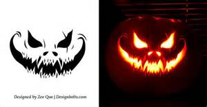 10 free scary cool pumpkin carving stencils 10 free scary pumpkin carving patterns