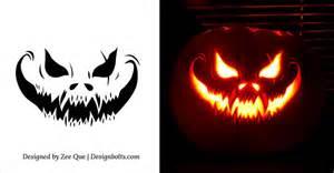 140 free halloween pumpkin carving patterns scary pumpkin carving