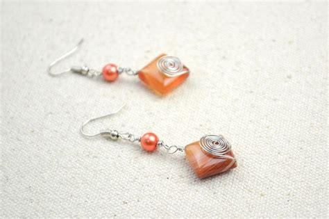 Bead Earring Designs Handmade - make adorable handmade earrings within 10 minutes 183 how to
