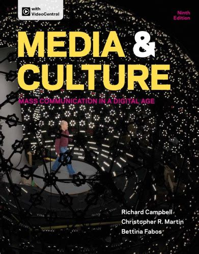Pdf Media Culture Mass Communication Digital media culture mass communication in a digital age