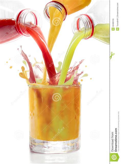 Making Credit Cards - fruit juices mixed in glass kiwi currants orange stock photo image 50489155