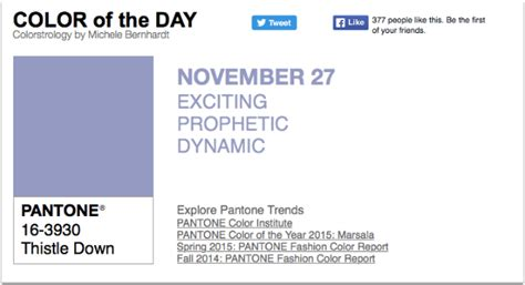 pantone color of the day appart mobile pantone color of the day thistle