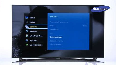 1 Set Top how to samsung smart tv 2013 op tv instellen via set top