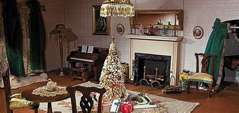 dollhouse decorated for christmas welcome to the smithsonian s dollhouse arts culture