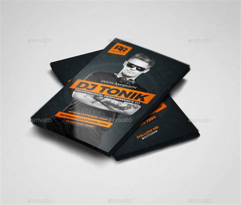 Producer Business Card Template Psd by Prodj Dj Producer Business Card Psd Template By
