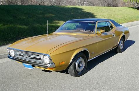 ford gold paint bright yellow gold gold g 1972 mustang paint cross