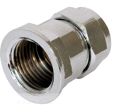 Plumbing Pipe L by New Brass Chrome Plated Plumbing Pipe Compression Adaptor