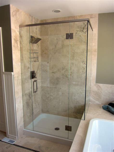 shower stalls with glass doors houseofmirrors bathroom