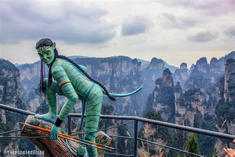 avatar film in china montagne tianzi quelle che hanno ispirato i panorami del