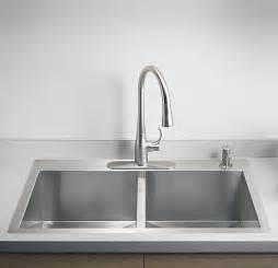 Top Kitchen Sink Faucets Kts3321d 33 Quot Top Mount Kitchen Sink Vancouver Bowl