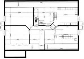 le plan d une maison moderne