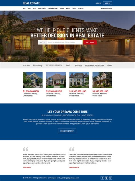 Html Website Templates 20 Flat Off Special Discount Offer Realtor Website Design Templates