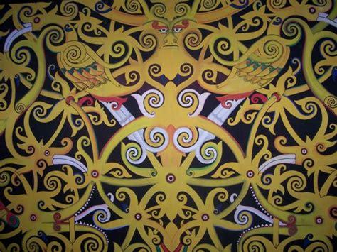 Kain Batik Cap Daun Etnic 30 gambar motif batik kalimantan timur terlengkap 2017