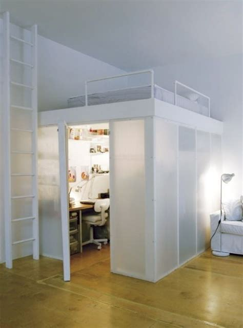 mezzanine bed soppalco mezzanine bed home organisation pinterest