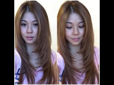 Get The Look Kellys Layered Do by How To Trim Cut Your Own Hair With Layers And Get Rid Of