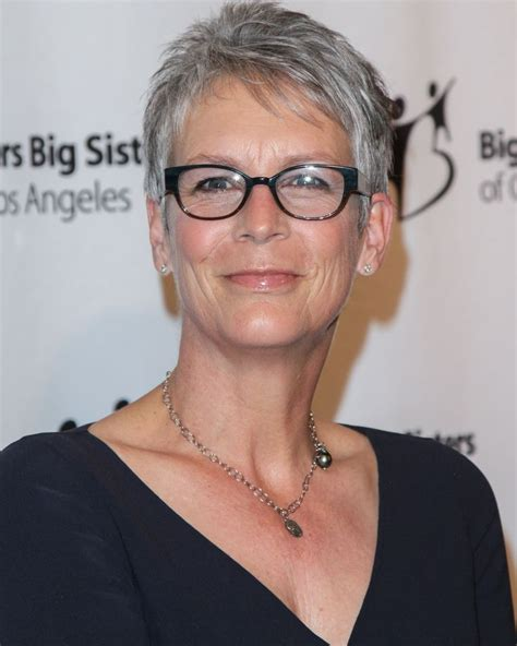 jamie lee curtis with silver hair classy and very short haircut 1000 images about silver hair on pinterest silver hair
