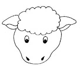 sheep craft template the finished sheepshould look