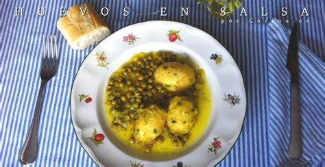recetas de cocina de huevos receta huevos en salsa cocina es