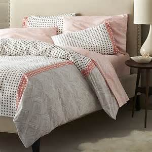 coral duvet cover king torben coral duvet covers and pillows shams crate and barrel