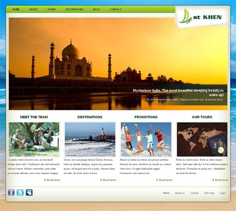 drupal themes development khen premium drupal 7 business theme for travel agencies