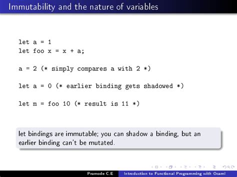 Ocaml Pattern Matching Variables   introduction to functional programming using ocaml