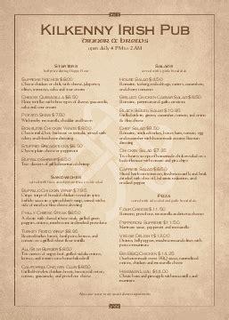 a4 menus a 4 menu templates musthavemenus