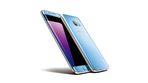 Samsung S7 Pasaran Samsung Galaxy S7 Edge Coral Blue Diperlihatkan Secara