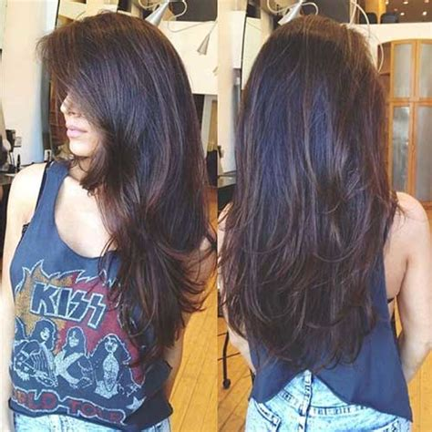 hairstyles for long black hair with layers 30 best long haircuts with layers long hairstyles 2016