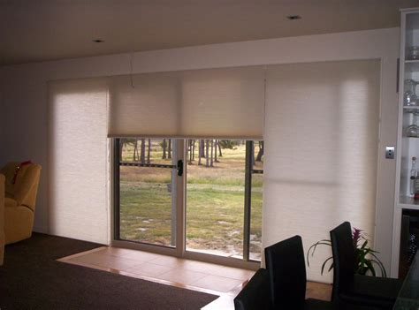 solar shades for patio doors window treatments design ideas