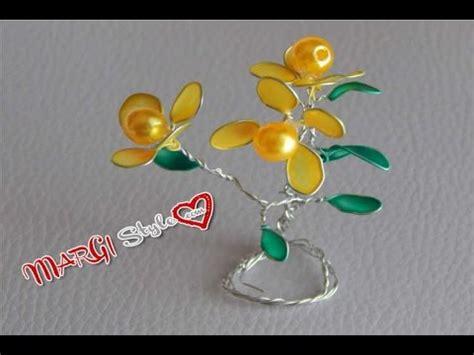 fiori con lo smalto accessori fai da te fiori con fil di ferro e smalto