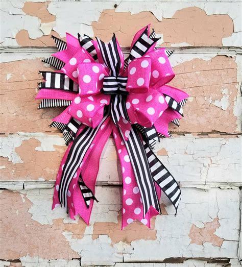 custom bow handmade bow replacement bow  wreaths