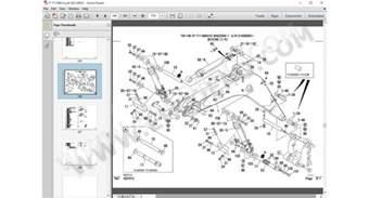 takeuchi excavators parts catalogue epc