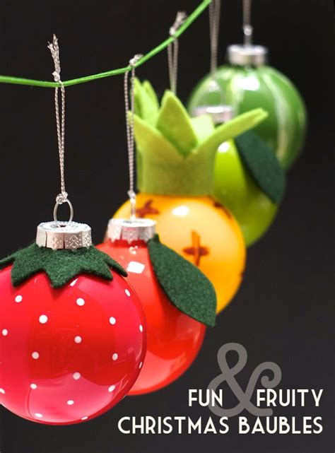 savvy housekeeping 187 easy diy colorful and fun fruit ornaments