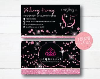 Paparazzi Business Cards Vistaprint