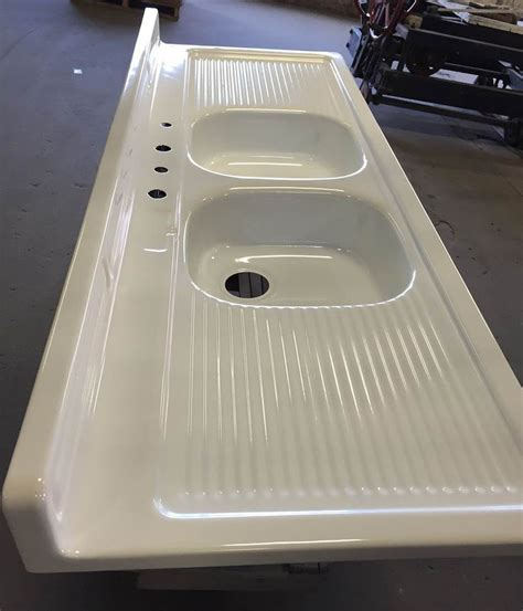 how to refinish a porcelain sink reporcelain refinish steel sinks stoves and other vintage