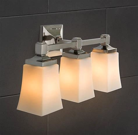 Restoration Hardware Vanity Lights Dillon Sconce Bath Sconces Restoration Hardware