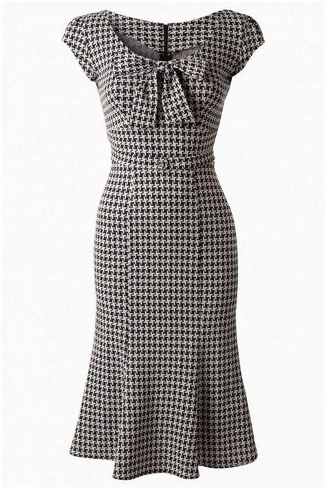 Bj 378 Office Style Black Dress 1000 images about vintage vixen 1950s dresses on