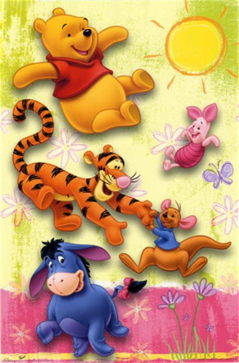 imagenes de winnie pooh bebe tiernas eeyore piglet pooh roo tigger winnie the pooh image