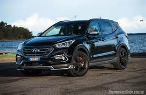 2016 hyundai santa fe sr review performancedrive