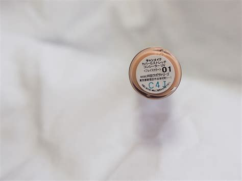 Canmake Cover Stretch Concealer Uv 02 canmake s cover stretch uv concealer to hide the