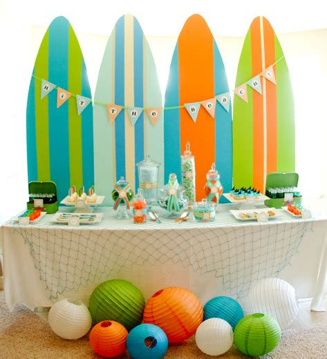 fun summer party ideas surf s up surfing kids summer party ideas itsy